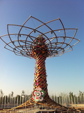 arbre de vie - expo milano
